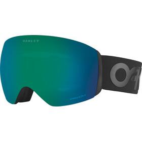 Oakley Flight Deck Goggles Factory Pilot Blackout W/ Prizm Jade Iridium